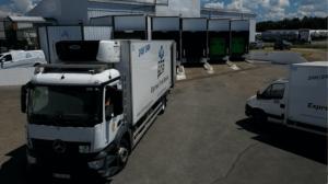 Distribution transport frigorifique